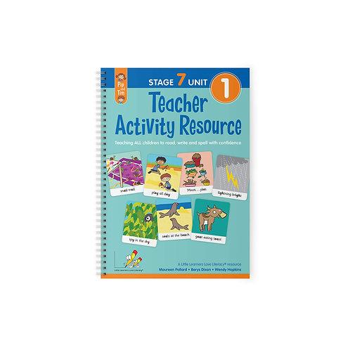Teacher Activity Resource Stage 7 Unit 1
