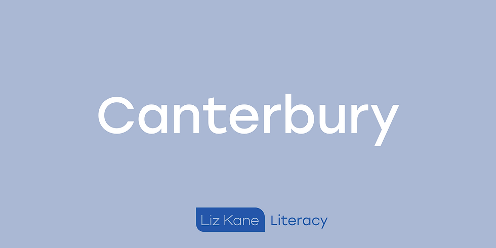 Two-Day Intensive Structure Literacy Workshop - Canterbury