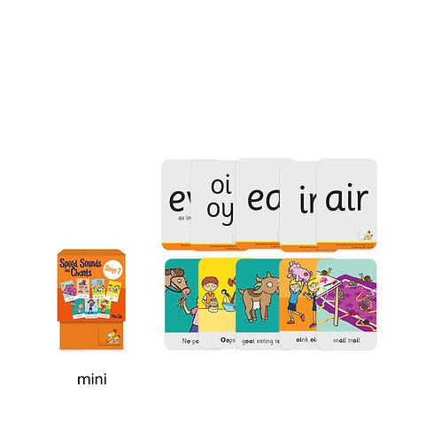 Speed Sounds and Chants Cards Stage 7 Mini