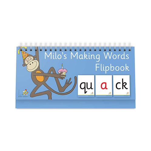 Milo's Making Words Flipbook