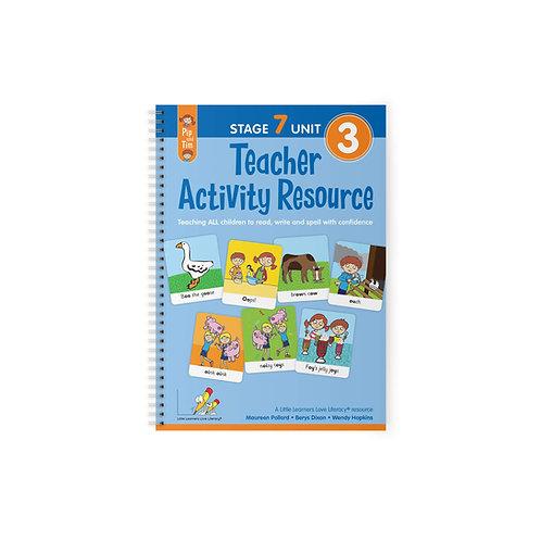 Teacher Activity Resource Stage 7 Unit 3