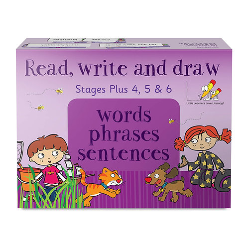 Read, Write, and Draw - Stages Plus 4, 5 and 6