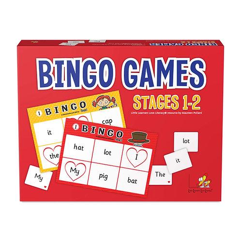 Bingo Games Stages 1-2