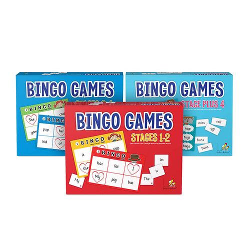 Bingo Games Set of 3