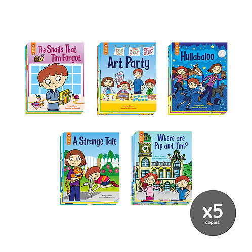 Classroom Book Pack - Pip and Tim Stage 7