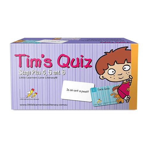 Tim's Quiz - Stages Plus 4, 5 and 6