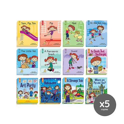 Classroom Book Pack - Pip and Tim