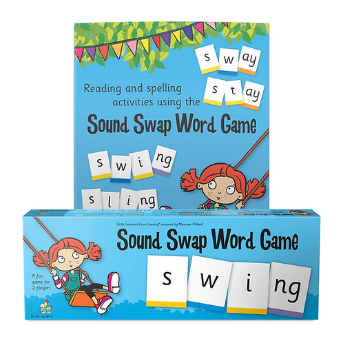 Sound Swap Word Game plus Word Chain Book