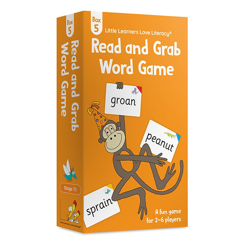 Read and Grab Word Game Box 5