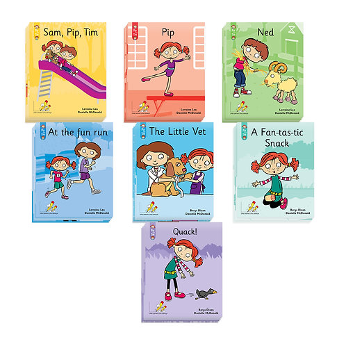 The Little Book Pack - Pip and Tim