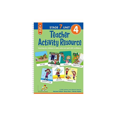 Teacher Activity Resource Stage 7 Unit 4 Book