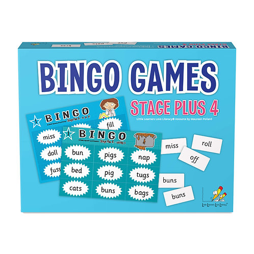Bingo Games Stages Plus 4