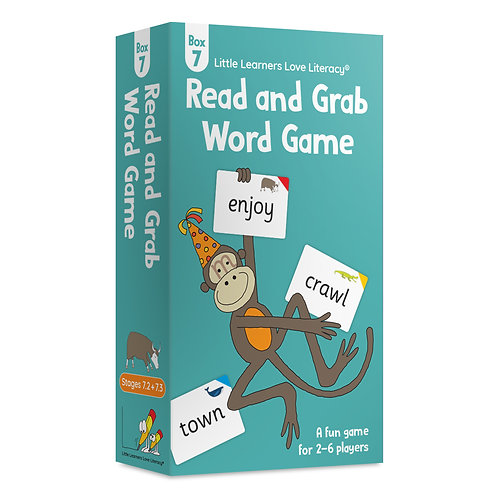 Read and Grab Word Game Box 8