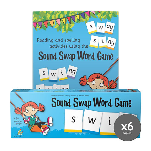 Sound Swap Word Game plus Word Chain Book (6)