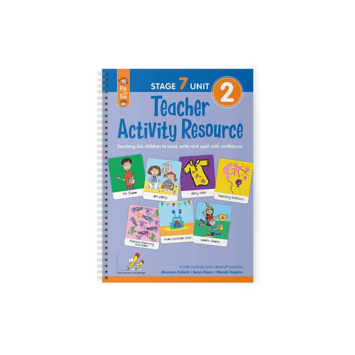 Teacher Activity Resource Stage 7 Unit 2
