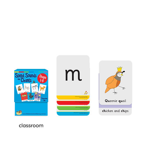 Speed Sounds and Chants Stages 1-6 Classroom Size