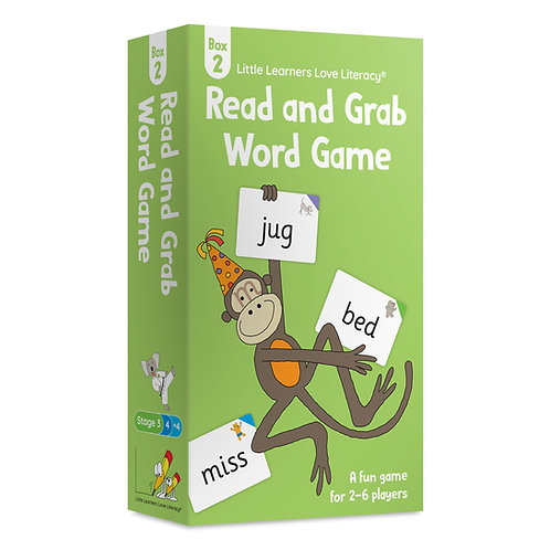 Read and Grab Word Game Box 2