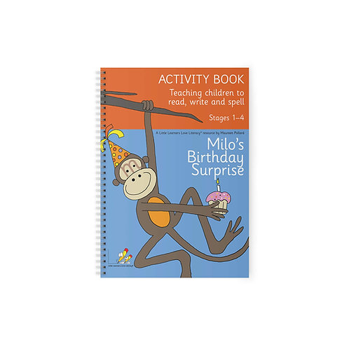 Milo's Birthday Surprise Activity Book Stages 1-4