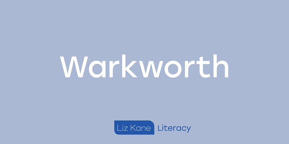 The Warkworth workshop is full and we have a waiting list.