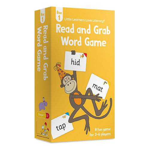 Read and Grab Word Game Box 1