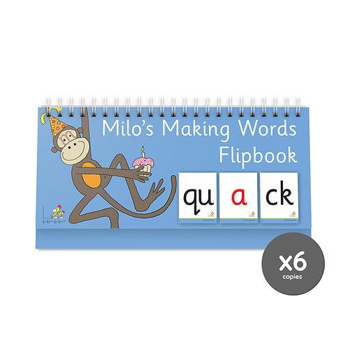 Milo's Flipbook Pack (6)