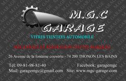 Enseigne garage