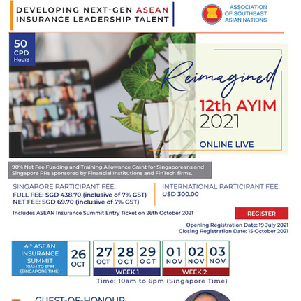 DEVELOPING NEXT-GEN ASEAN INSURANCE LEADERSHIP TALENT