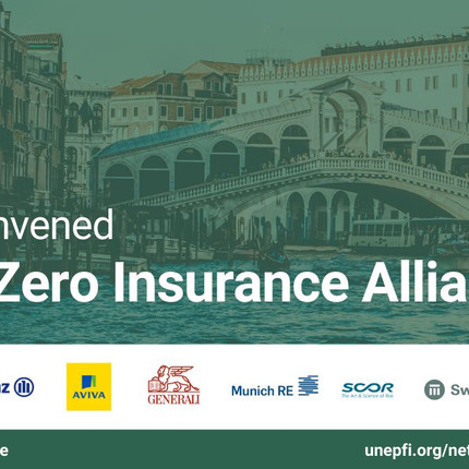 Global insurance and reinsurance leaders establish alliance to accelerate transition