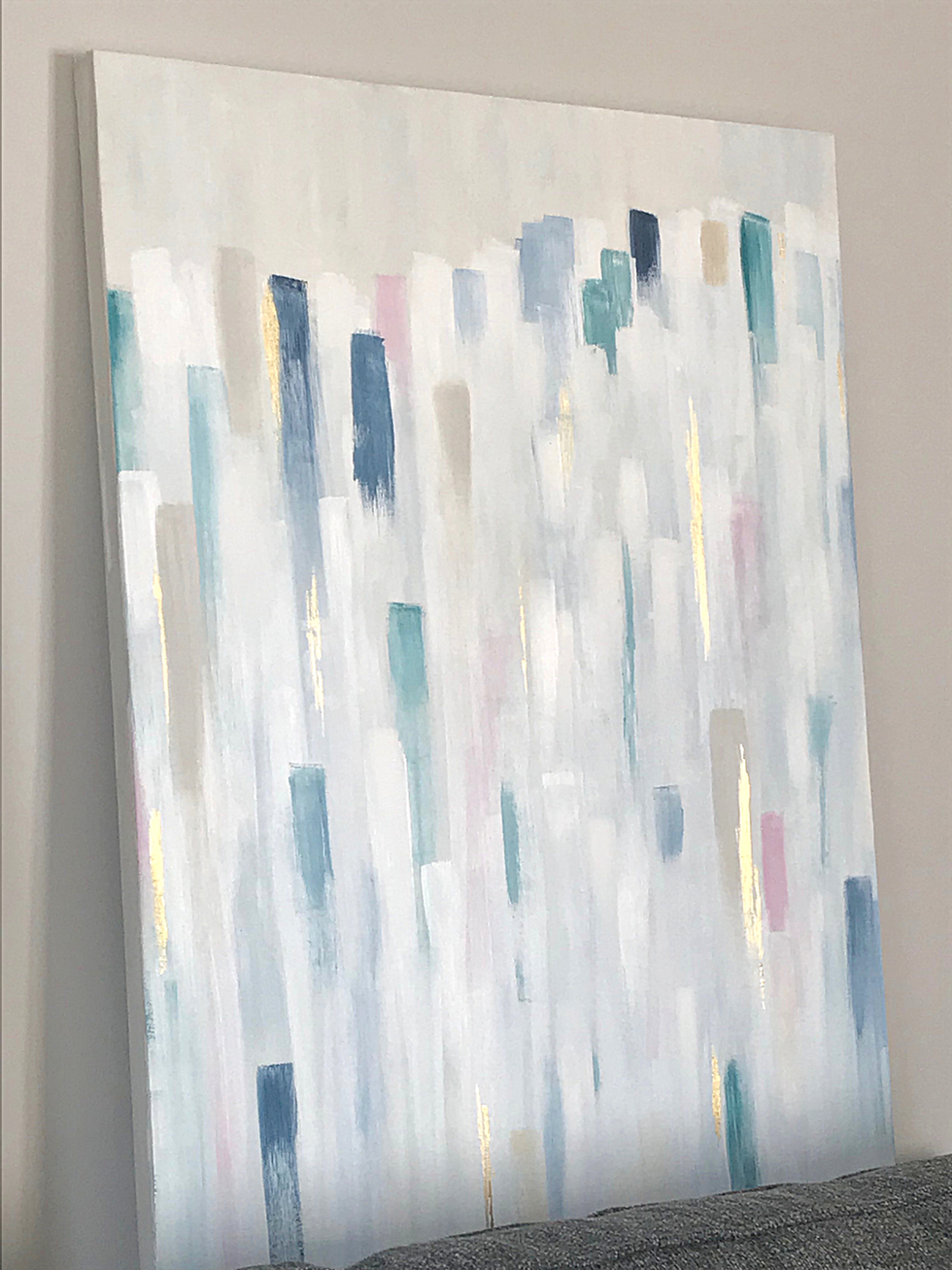 "SOLD - 30"" X 36"" Acrylic on canvas"
