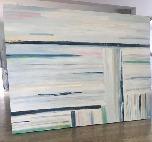 "SOLD - 48"" x 36"" Acrylic on canvas"
