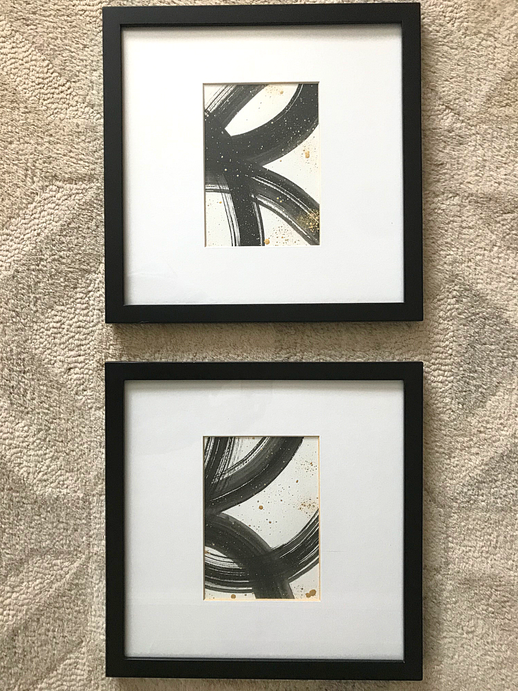 Two 5 x 7 Acrylic on watercolor paper