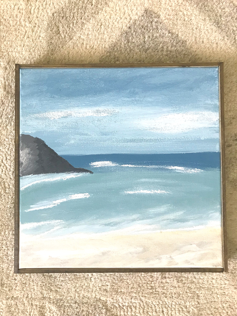 12 x 12 - Acrylic on gallery wrapped canvas