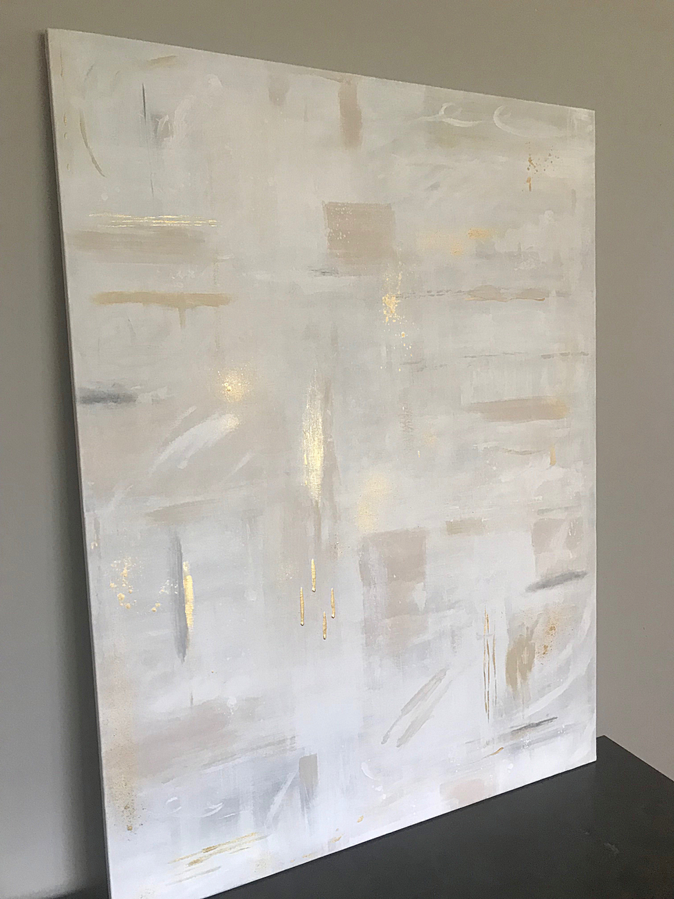 SOLD - 30 x 40 Acrylic on gallery wrapped canvas