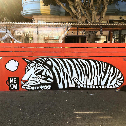Lounging Tiger