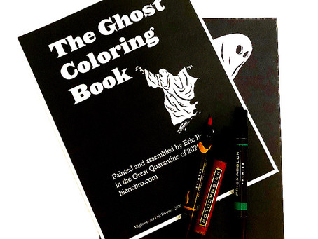 Ghost Coloring Book