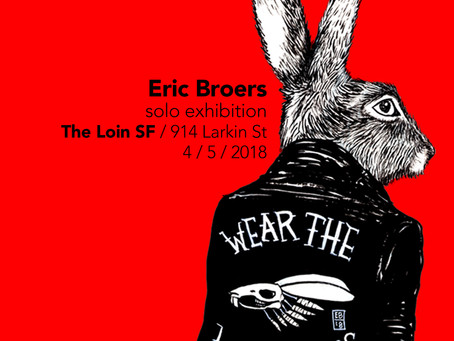 Solo Show at The Loin on April 5th, 2018
