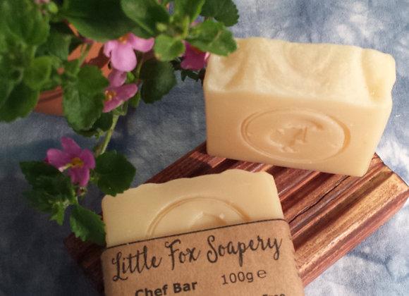 Chef bar natural soap 100g - vegan