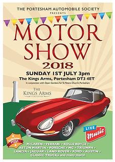Portesham Motor Show 2018
