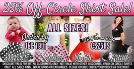 Circle Skirt Sale