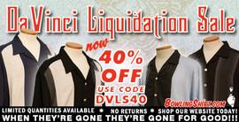 DaVinci Liquidation Sale
