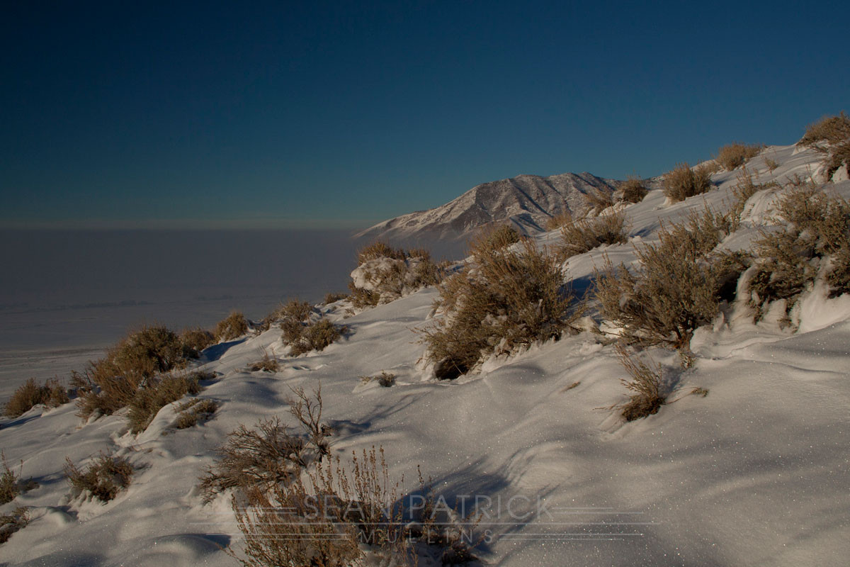 Inversion Above Tooele
