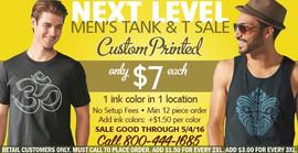 Next Level Men's Sale