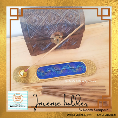 Learn how to create this Incense holder out of polymer clay...