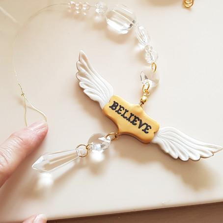 Wings of Hope Suncatcher