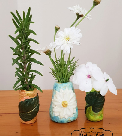 Miniature Bud Vases tutorial