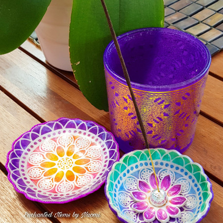 Mandala Incense Stick Holder Tutorial