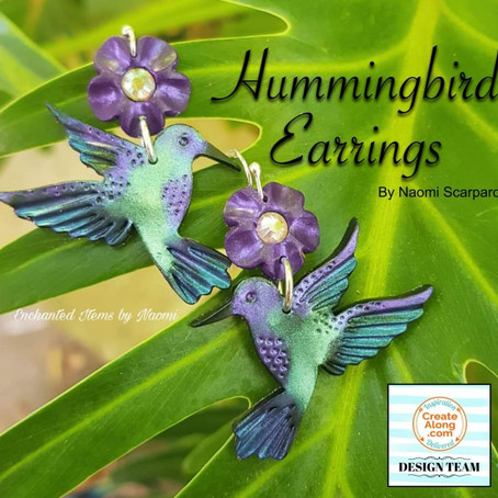 A new Polymer clay earring tutorial to get your ears humming...