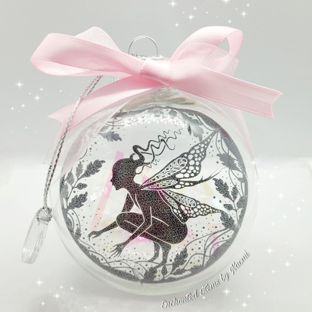 Enchanted Fairy World Baubles are available now to pre-order!