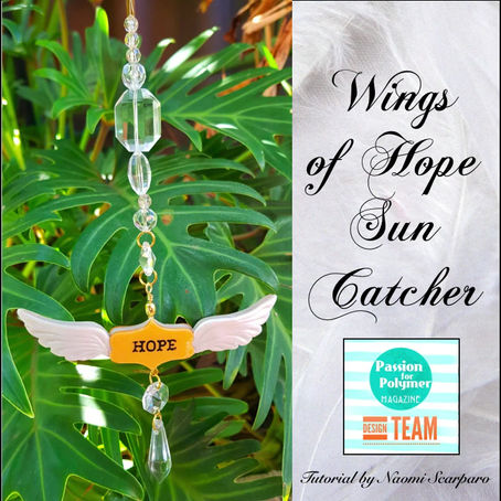 Wings of Hope Suncatcher tutorial