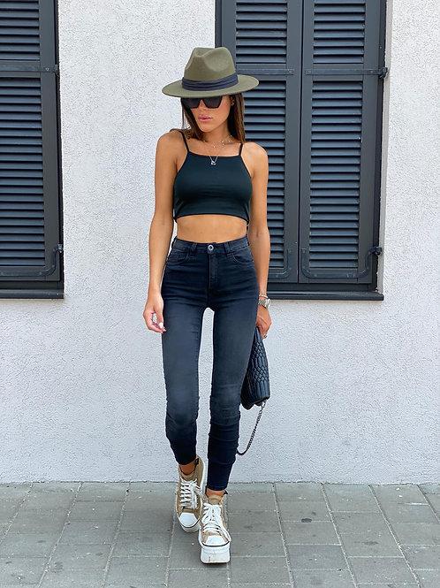 ג'ינס אפור כהה חברת 101